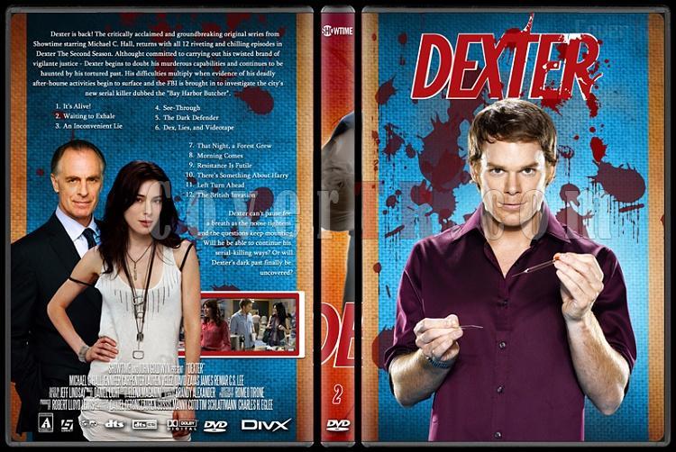 Dexter (Season 1-8) - Custom Dvd Cover Set - English [2003-2013]-dexter_2jpg