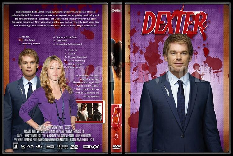 Dexter (Season 1-8) - Custom Dvd Cover Set - English [2003-2013]-dexter_5jpg