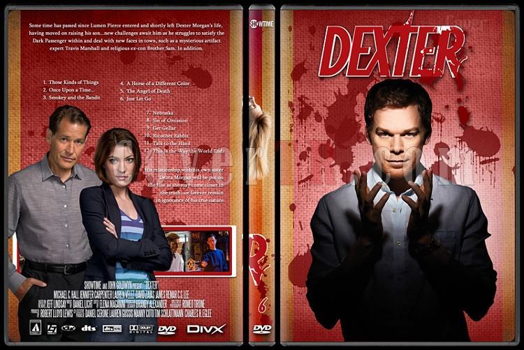 Dexter (Season 1-8) - Custom Dvd Cover Set - English [2003-2013]-dexter_6jpg