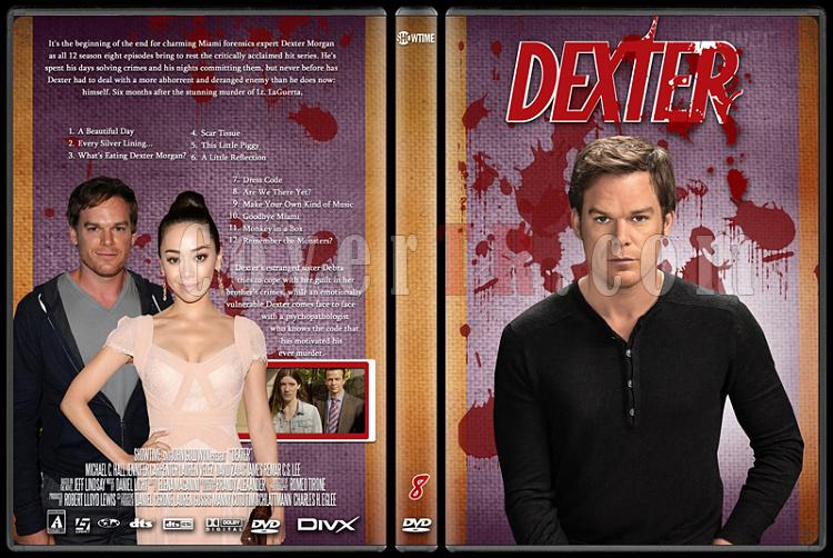 Dexter (Season 1-8) - Custom Dvd Cover Set - English [2003-2013]-dexter_8jpg
