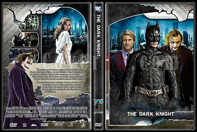 Batman Collection - Custom Dvd Cover Set - English [1989-2012]-batman_dark_knightjpg