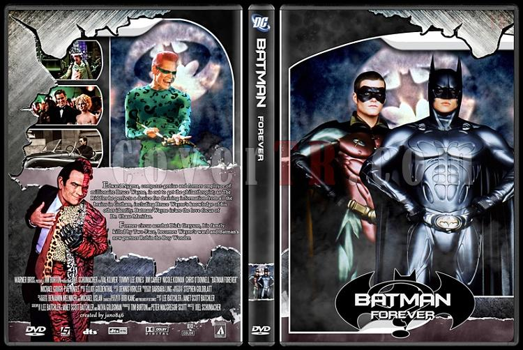 Batman Collection - Custom Dvd Cover Set - English [1989-2012]-batman_foreverjpg