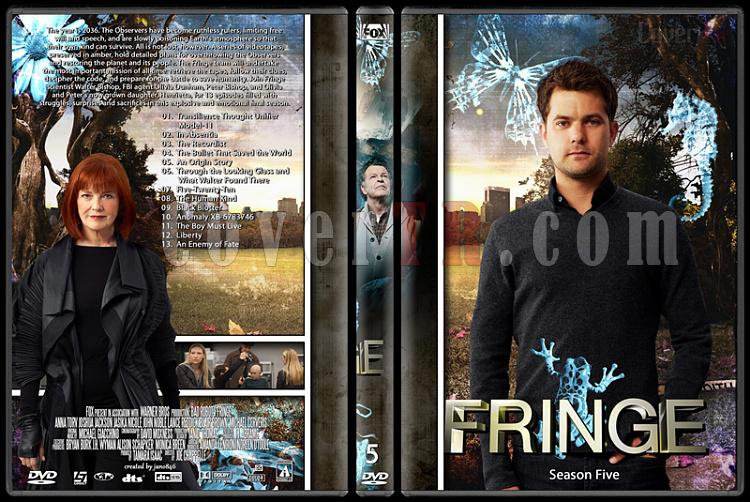 Fringe (Season 1-5) - Custom Dvd Cover Set - English [2008-2013]-fringe_-_season_-_5jpg