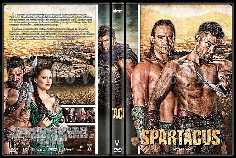Spartacus (Season 1-4) - Custom Dvd Cover Set - English [2010-2013]-spartacus_3-vengeancejpg