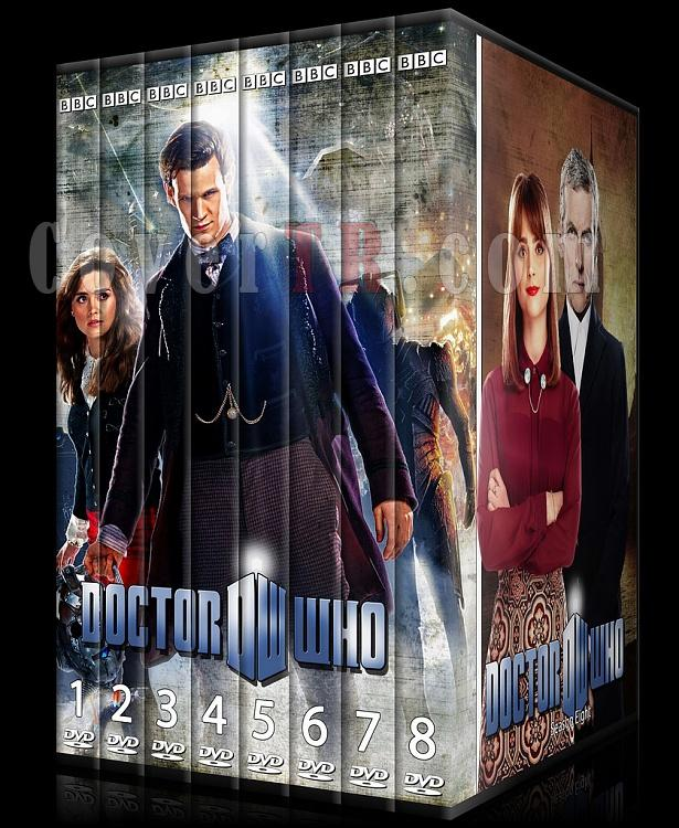 Doctor Who (Season 1-8) - Custom Dvd Cover Set - English [2005-?]-doctor_who-season-1-8jpg