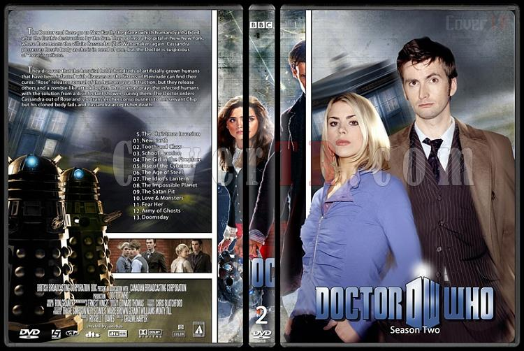 Doctor Who (Season 1-8) - Custom Dvd Cover Set - English [2005-?]-doctor_who-season-2jpg