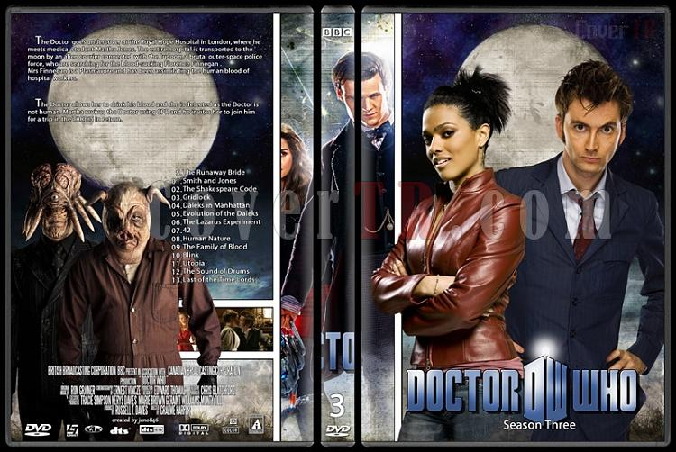 Doctor Who (Season 1-8) - Custom Dvd Cover Set - English [2005-?]-doctor_who-season-3jpg