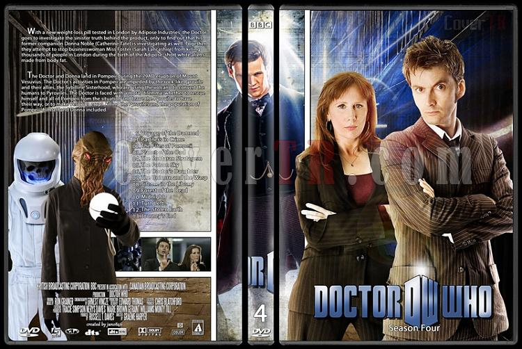 Doctor Who (Season 1-8) - Custom Dvd Cover Set - English [2005-?]-doctor_who-season-4jpg