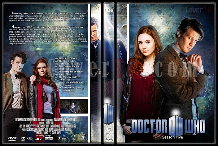 Doctor Who (Season 1-8) - Custom Dvd Cover Set - English [2005-?]-doctor_who-season-5jpg