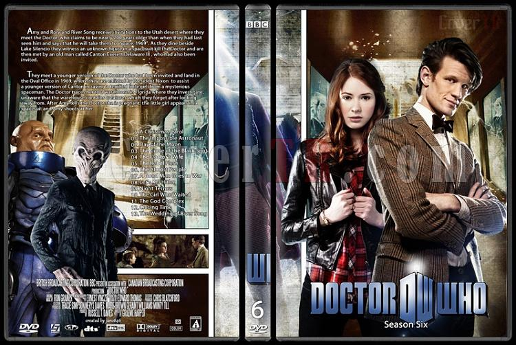 Doctor Who (Season 1-8) - Custom Dvd Cover Set - English [2005-?]-doctor_who-season-6jpg