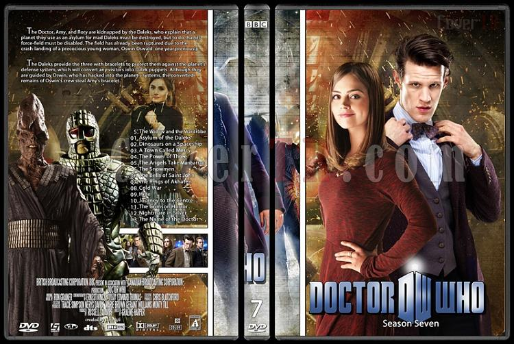Doctor Who (Season 1-8) - Custom Dvd Cover Set - English [2005-?]-doctor_who-season-7jpg