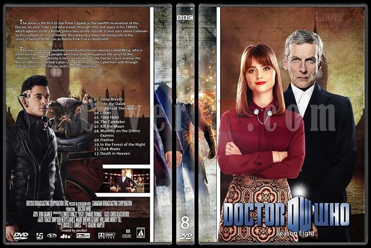 Doctor Who (Season 1-8) - Custom Dvd Cover Set - English [2005-?]-doctor_who-season-80jpg