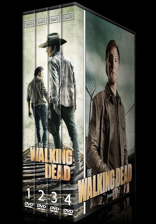 The Walking Dead (Season 1-4) - Custom Dvd Cover Set - English [2010-?]-the_walking_dead-season-1-4jpg
