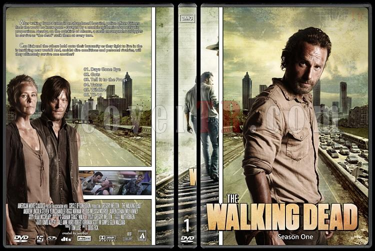 The Walking Dead (Season 1-4) - Custom Dvd Cover Set - English [2010-?]-the_walking_dead-season-1jpg