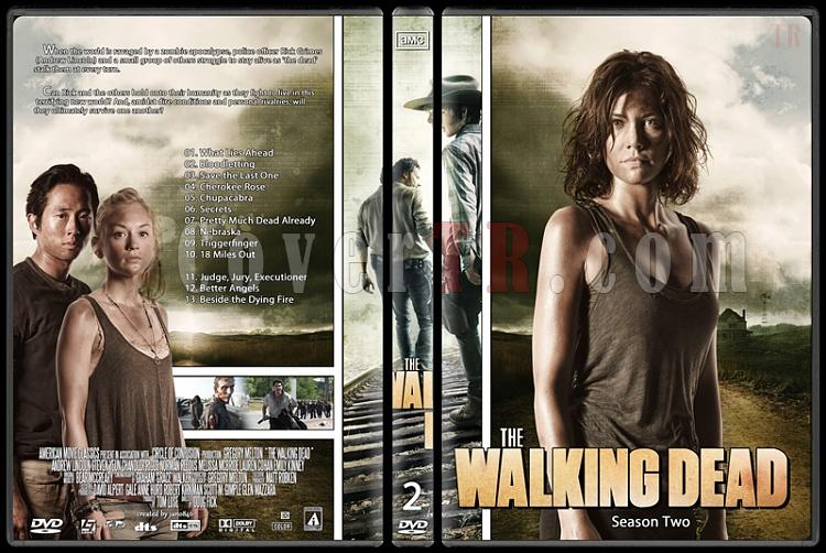 The Walking Dead (Season 1-4) - Custom Dvd Cover Set - English [2010-?]-the_walking_dead-season-2jpg