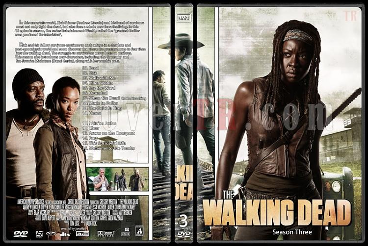The Walking Dead (Season 1-4) - Custom Dvd Cover Set - English [2010-?]-the_walking_dead-season-3jpg
