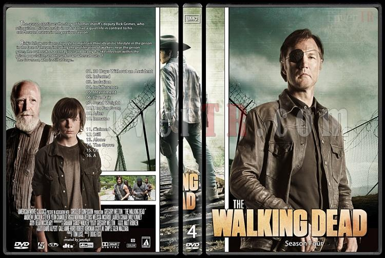 The Walking Dead (Season 1-4) - Custom Dvd Cover Set - English [2010-?]-the_walking_dead-season-4jpg