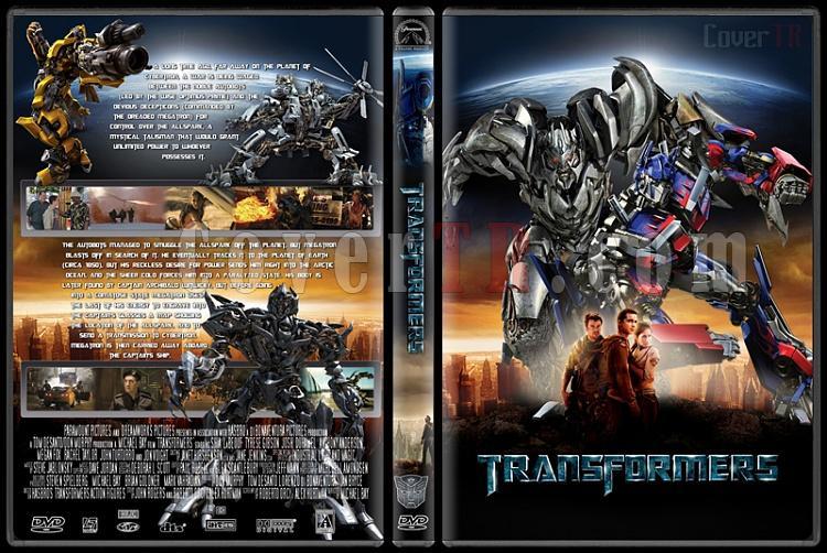 Transformers Collection - Custom Dvd Cover Set - English [2007-2014]-transformers1jpg
