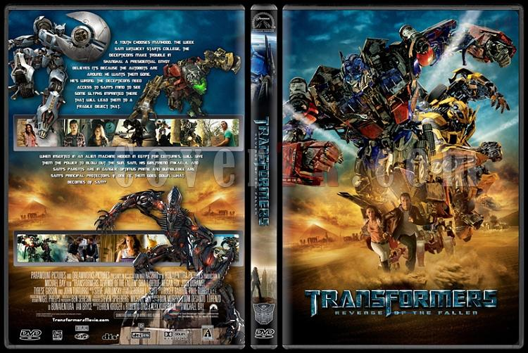 Transformers Collection - Custom Dvd Cover Set - English [2007-2014]-transformers2jpg