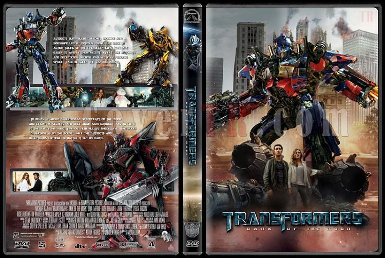 Transformers Collection - Custom Dvd Cover Set - English [2007-2014]-transformers3jpg