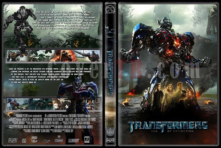 Transformers Collection - Custom Dvd Cover Set - English [2007-2014]-transformers4jpg