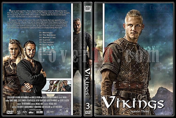 Vikings (Season 1-3) - Custom Dvd Cover Set - English [2013-?]-vikings_season_threejpg