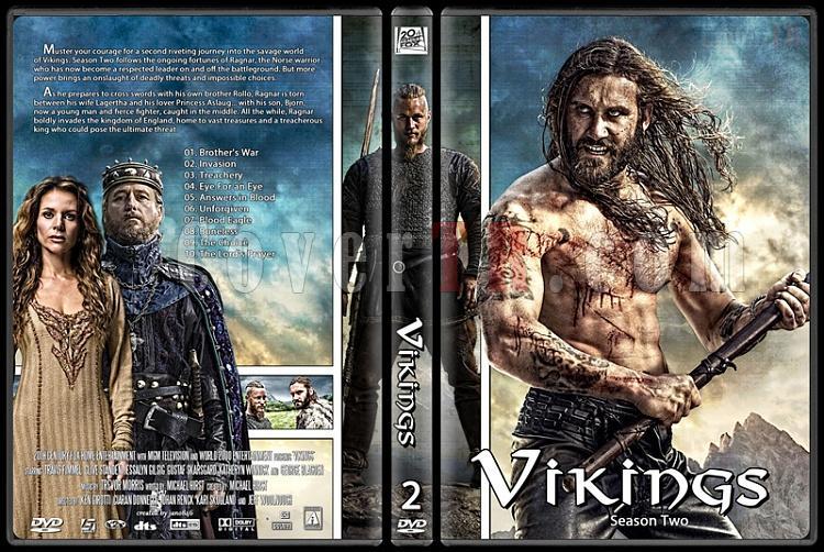Vikings (Season 1-3) - Custom Dvd Cover Set - English [2013-?]-vikings_season_twojpg