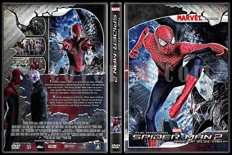 Spider-Man Collection - Custom Dvd Cover - English [2002-2014]-amazing_spider-man_2jpg