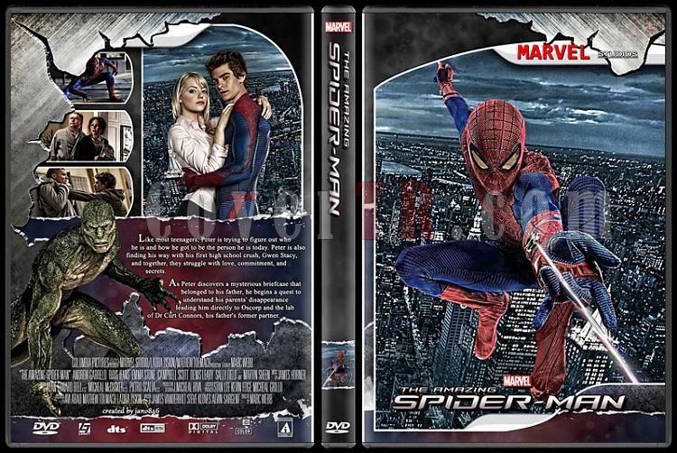 Spider-Man Collection - Custom Dvd Cover - English [2002-2014]-amazing_spider-man0jpg