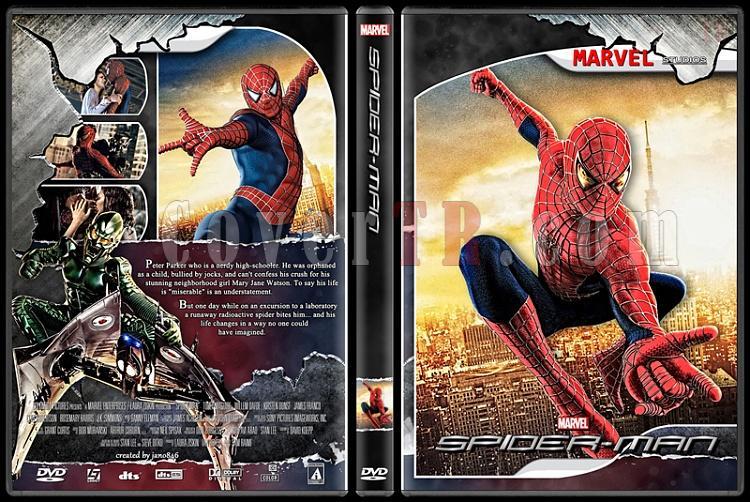 Spider-Man Collection - Custom Dvd Cover - English [2002-2014]-spider-man_1jpg