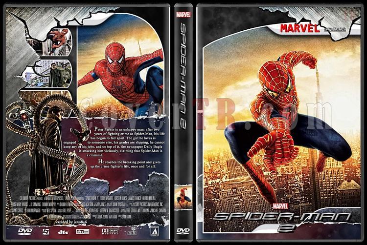 Spider-Man Collection - Custom Dvd Cover - English [2002-2014]-spider-man_2jpg
