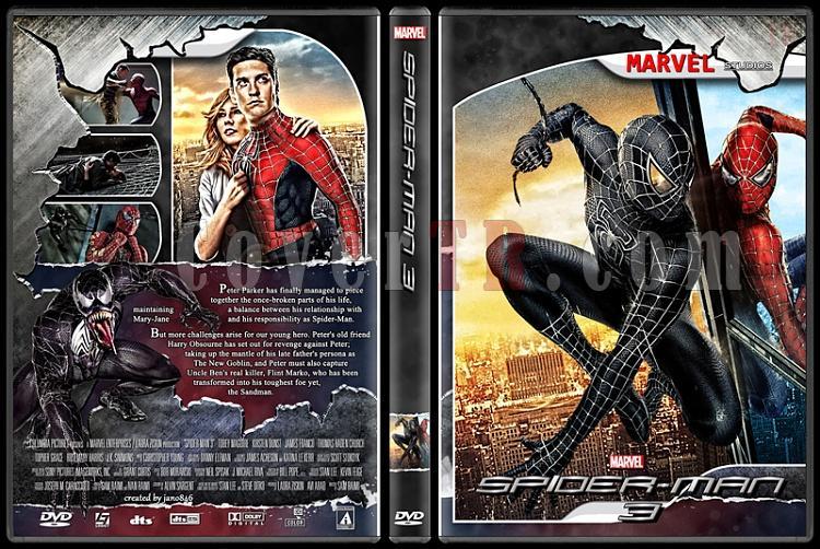 Spider-Man Collection - Custom Dvd Cover - English [2002-2014]-spider-man_3jpg