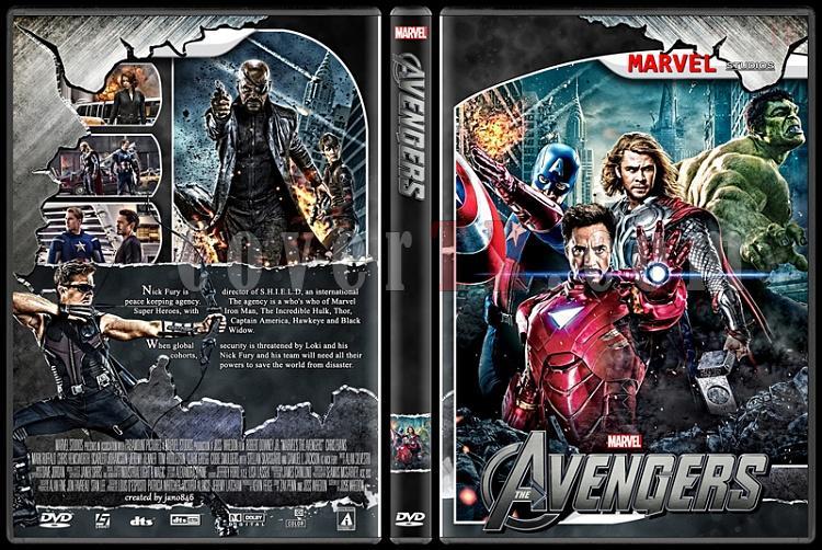 The Avengers (Collection) - Custom Dvd Cover Set - English [2012-2015]-avengers0jpg