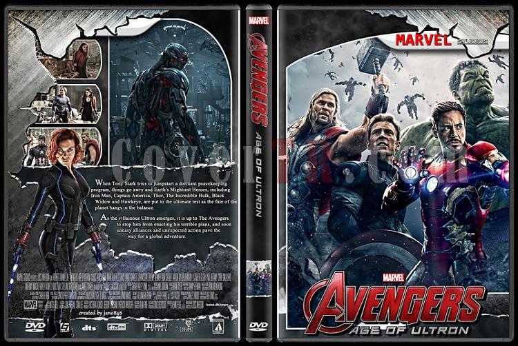 The Avengers (Collection) - Custom Dvd Cover Set - English [2012-2015]-avengers2jpg
