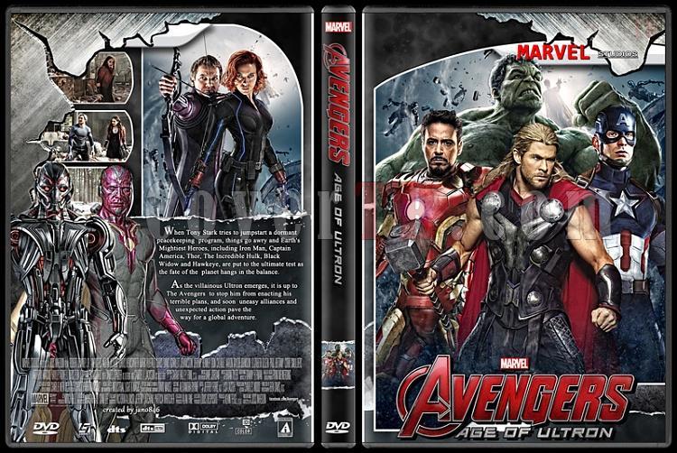 The Avengers (Collection) - Custom Dvd Cover Set - English [2012-2015]-avengers2vz2jpg