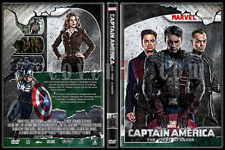 Captain America (Collection) - Custom Dvd Cover Set - English [2011-2014]-captain_americajpg