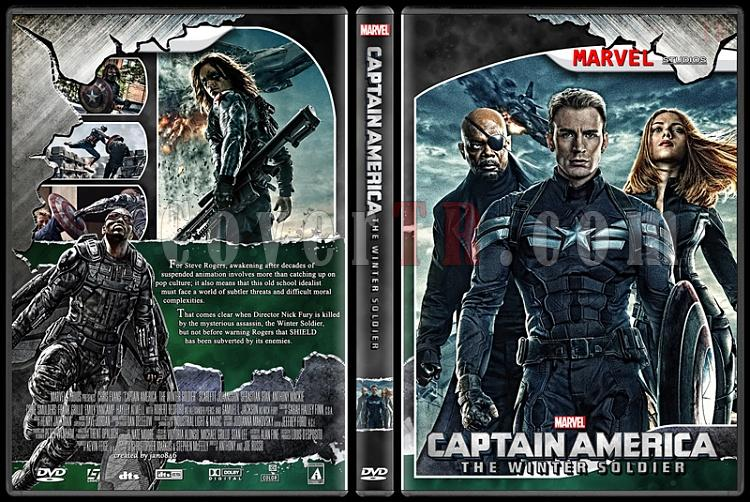 Captain America (Collection) - Custom Dvd Cover Set - English [2011-2014]-captain_america_2jpg