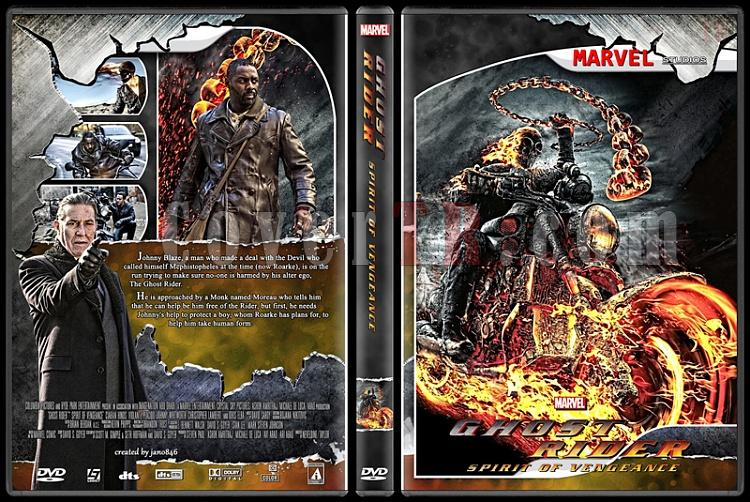 Ghost Rider Collection - Custom Dvd Cover - English [2007-2011]-ghost_rider_spirit_of_vengeance1jpg