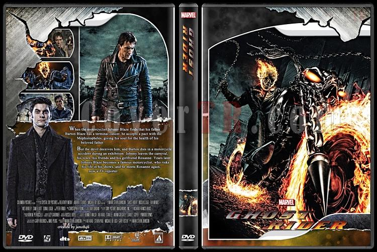 Ghost Rider Collection - Custom Dvd Cover - English [2007-2011]-ghost_rider0jpg