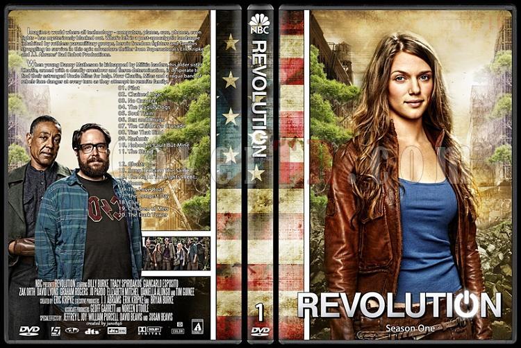 Revolution (Season 1-2) - Custom Dvd Cover Set - English [2012-2014]-revolution-season-1jpg