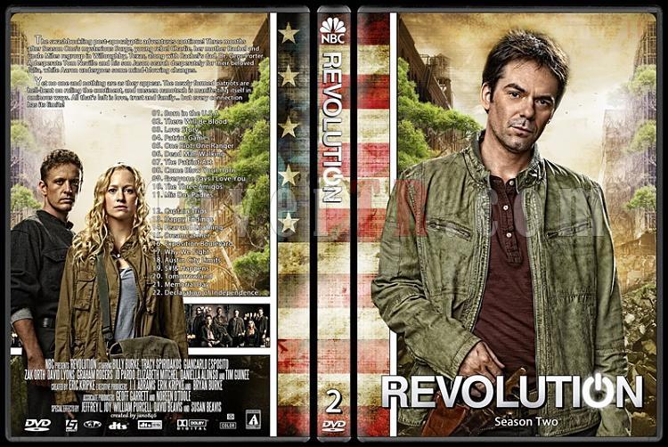 Revolution (Season 1-2) - Custom Dvd Cover Set - English [2012-2014]-revolution-season-2jpg