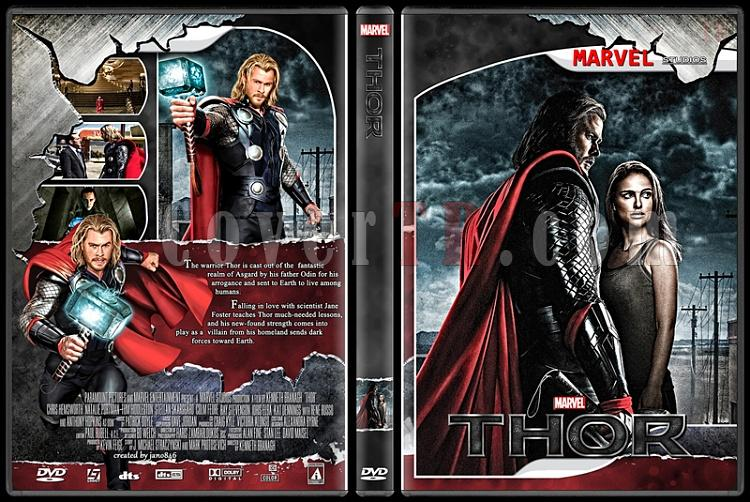 Thor (Collection) - Custom Dvd Cover Set - English [2011-2013]-thorjpg