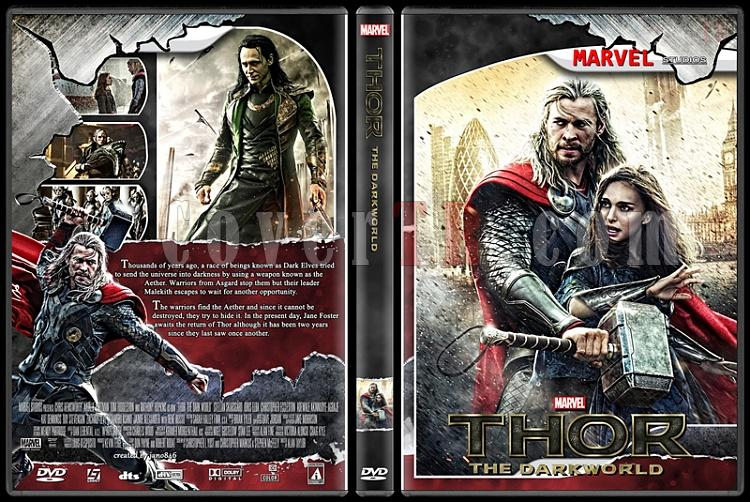 Thor (Collection) - Custom Dvd Cover Set - English [2011-2013]-thor_2jpg