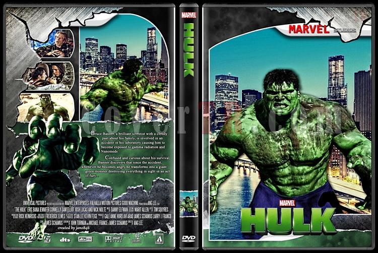 Hulk (Collection) - Custom Dvd Cover Set - English [2003-2008]-hulk0jpg