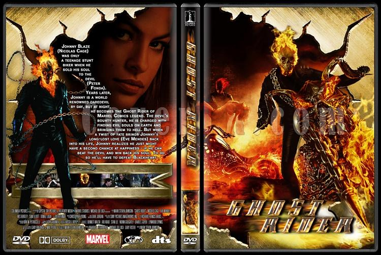 Ghost Rider Collection - Custom Dvd Cover - English [2007-2011]-ghost_riderjpg