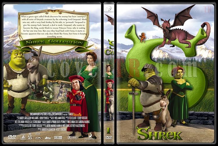 Shrek (Collection) - Custom Dvd Cover Set - English [2001-2010]-shrek1jpg