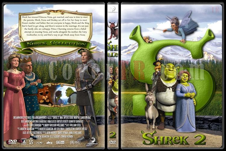 Shrek (Collection) - Custom Dvd Cover Set - English [2001-2010]-shrek2jpg