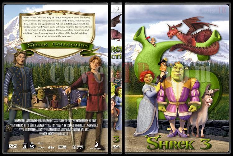 Shrek (Collection) - Custom Dvd Cover Set - English [2001-2010]-shrek3jpg
