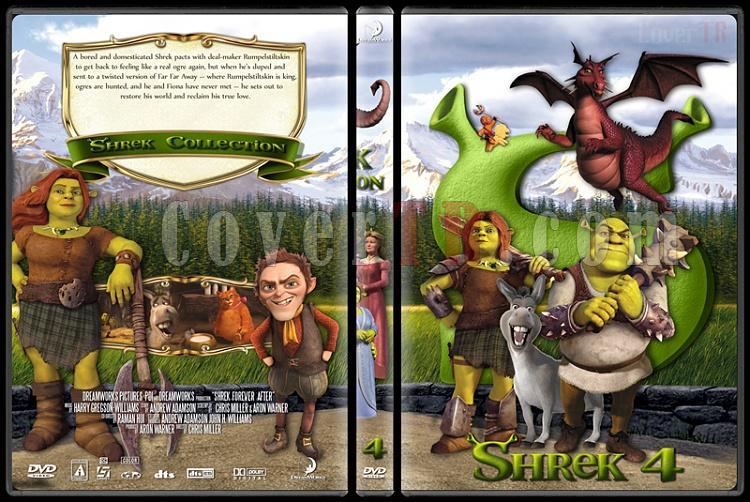 Shrek (Collection) - Custom Dvd Cover Set - English [2001-2010]-shrek4jpg