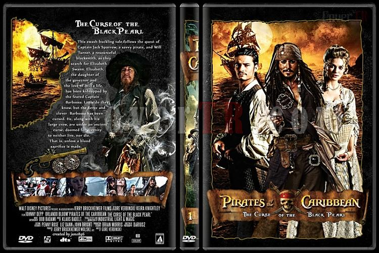 Pirates of the Caribbean Collection - Custom Dvd Cover - English [2003-2011]-pirates_of_the_caribbean_1jpg